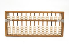 Old chinese abacus Stock Image