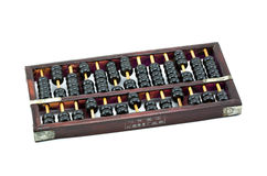 Old Chinese Abacus Stock Photography