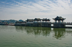 Old chinese bridge. Stock Images