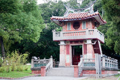 Old Chinese chime tower Stock Photography