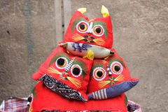 Old chinese cloth doll Royalty Free Stock Photos