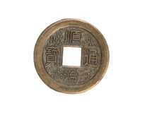 Old Chinese coin Stock Photos