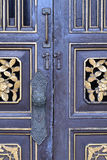 Old chinese door decoration. Royalty Free Stock Photography