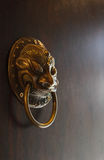 Old Chinese doorknob,chinese concept. Old Chinese doorknob, chinese concept Royalty Free Stock Photo