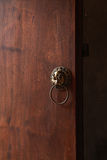 Old Chinese doorknob, chinese concept Stock Images