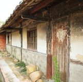 Old Chinese Farmhouse Royalty Free Stock Photo