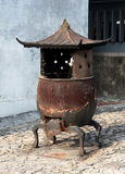 Old chinese furnance Stock Photography