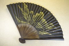 Old Chinese hand fan Royalty Free Stock Photos