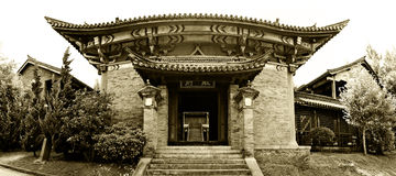 Old Chinese House Stock Photography