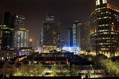 Old Chinese Houses High Rises Xintiandi Shanghai Stock Photo
