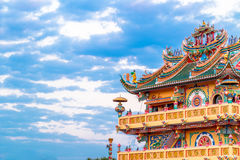 Old Chinese religion. Royalty Free Stock Photography