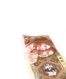 Old chinese rmb yuan note bill Stock Photos