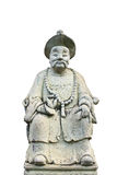 Old chinese statue, Wat Pra kaew Royalty Free Stock Photography