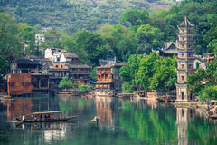 Old Chinese traditional town Stock Images