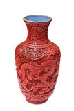 Old Chinese vase Stock Photo