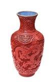 Old Chinese vase Stock Photo
