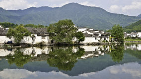 Old chinese village Stock Photography