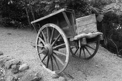 Old Chinese Wagon Royalty Free Stock Images