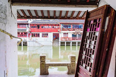 Old Chinese water town Royalty Free Stock Photos