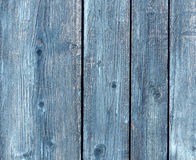 Old chipboard paited fence. Stock Image