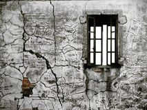 Old chipped wall Royalty Free Stock Images