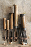 old chisels Royalty Free Stock Image
