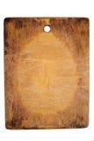 Old chopping board Stock Photo