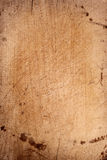 Old chopping board wooden background Stock Photography