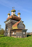 Old christian church in North Russia near Kargopol Stock Image
