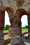 Old christian church ruins Royalty Free Stock Photography