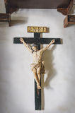 Old christian crucifix Royalty Free Stock Images