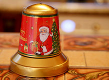 Old Christmas Bell Royalty Free Stock Photos