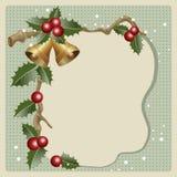 Old Christmas card Stock Photo