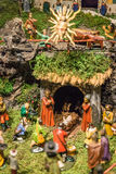 Old Christmas Crib Royalty Free Stock Photo