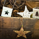 Old christmas decoration Royalty Free Stock Photo