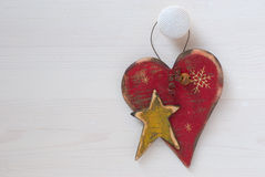 Old christmas decorations Stock Photos