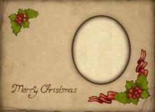 Free Old Christmas Greeting Card Stock Image - 17345961