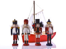 Old christmas toys Royalty Free Stock Images