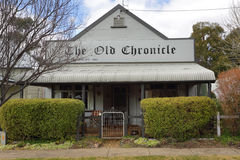 The Old Chronicle Carcoar Royalty Free Stock Photo
