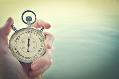 Old chronometer Royalty Free Stock Image