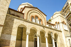 Old Chruch in Thessaloniki city. Greece, Macedonia Royalty Free Stock Image