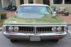 Old Chrysler Car. The old Chrysler car at the show Royalty Free Stock Photo