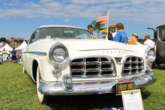 Old Chrysler Car at the car show Royalty Free Stock Image