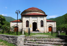 The old Chuch in the town of Sheki. Stock Photos
