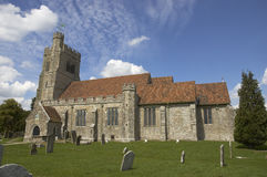 Old church. And grave yard in Kent UK Stock Images