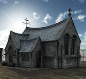 Old Church. A wonderfully crafted old church background