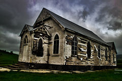 Old church. On south island of new zealand Royalty Free Stock Photo