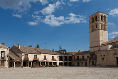 Old church. The old church of Pedraza, Segovia (Spain Stock Images