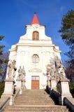 Old church. Church, city - Zidlochovice, the Czech Republic Royalty Free Stock Photos