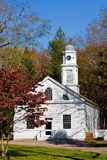 Old Church. An old, restored church in Allaire Village, New Jersey. Allaire village was a bog iron industry town in New Jersey during the early 19th century Stock Photography